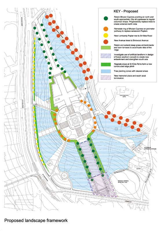 Landscaping Management Plan : Shrine reserve landscape management plan rush wright
