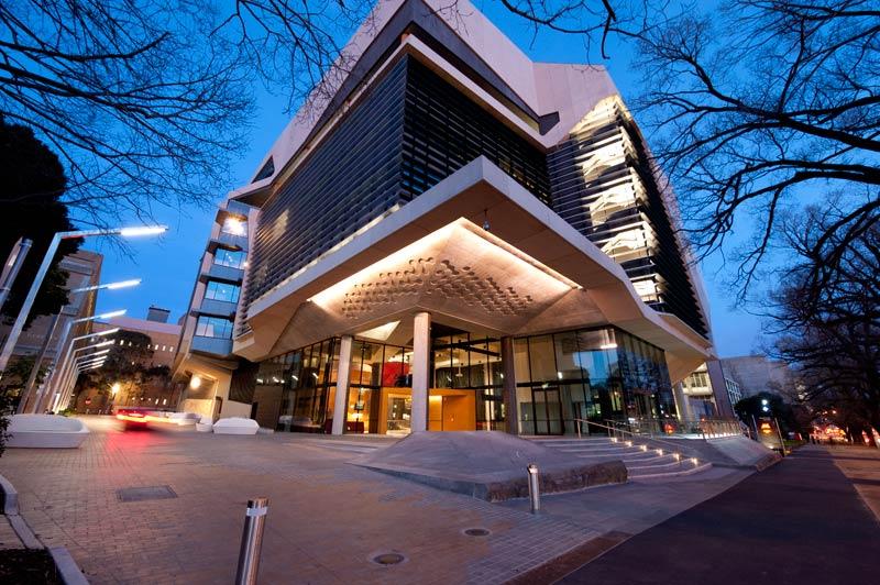 Melbourne brain centre rush wright associates for University of melbourne landscape architecture