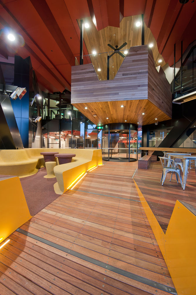 The much anticipated rmit swanston academic building is - Interior design students for hire ...